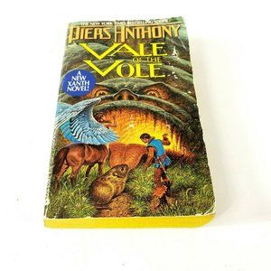Xanth 10 Vale of the Vole Piers Anthony Vintage